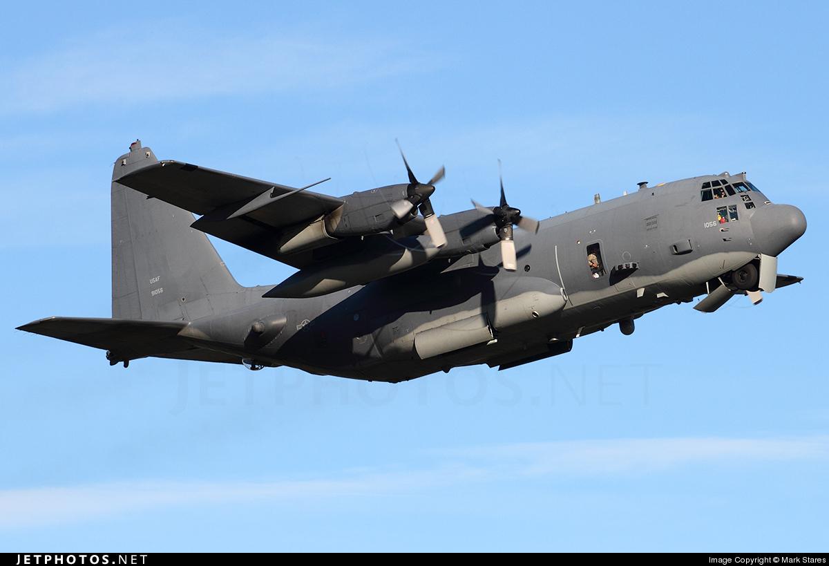 89-1056   Lockheed AC-130U Spooky II   United States - US Air ...