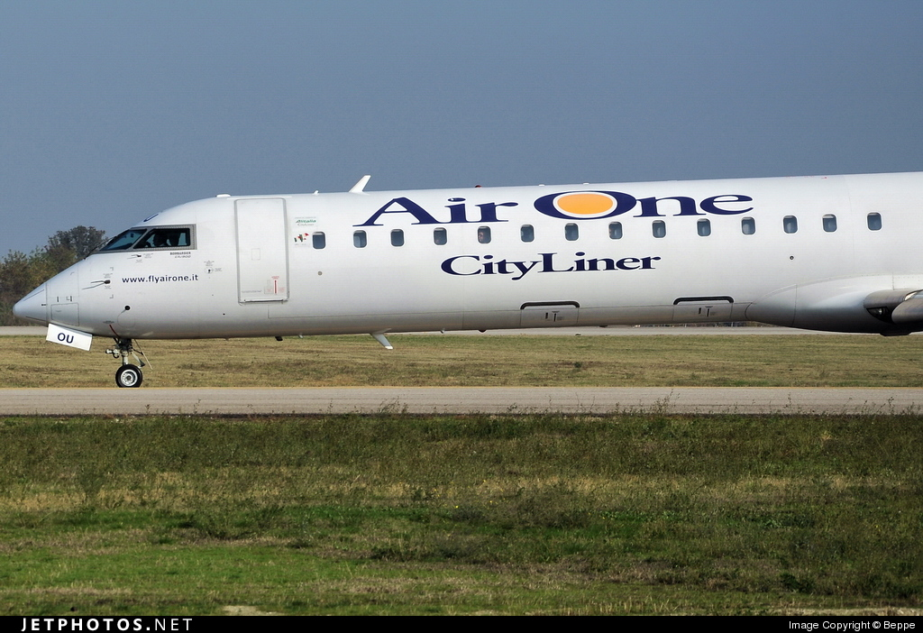 EI-DOU - Bombardier CRJ-900ER - Air One CityLiner