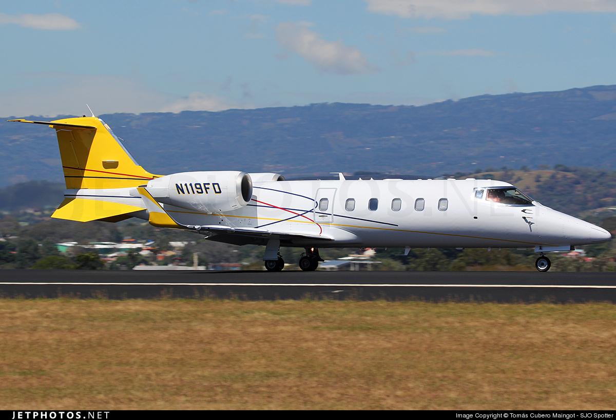N119FD - Bombardier Learjet 60 - Private
