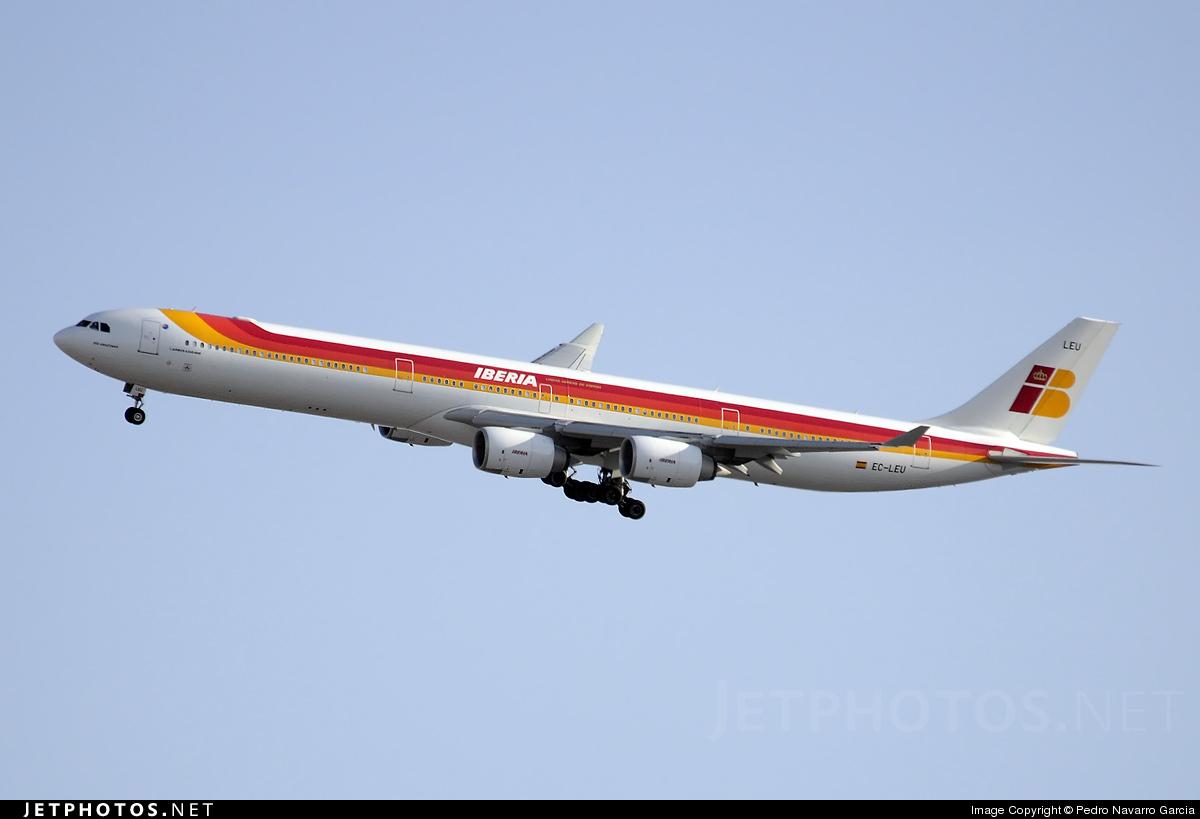 EC-LEU - Airbus A340-642X - Iberia