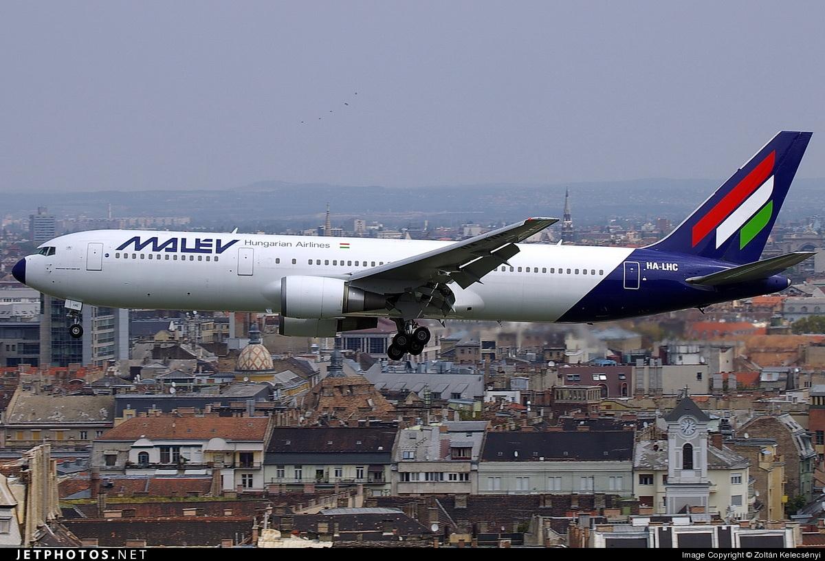 HA-LHC - Boeing 767-306(ER) - Malév Hungarian Airlines