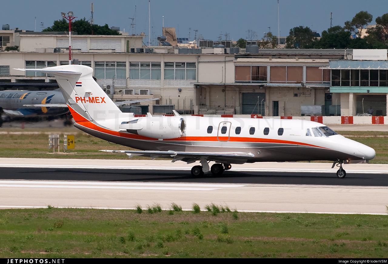 PH-MEX - Cessna 650 Citation VI - Air Service Liège (ASL)