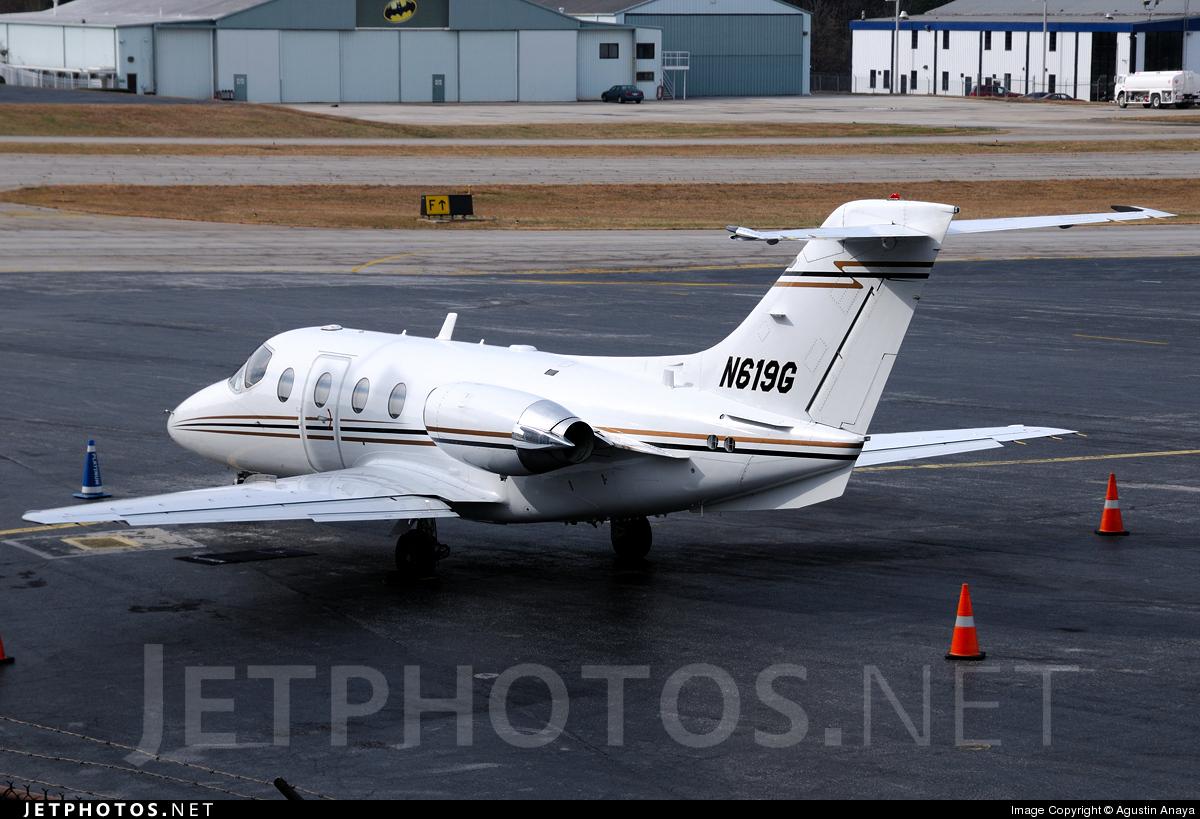 N619G - Beechcraft 400A Beechjet - Private