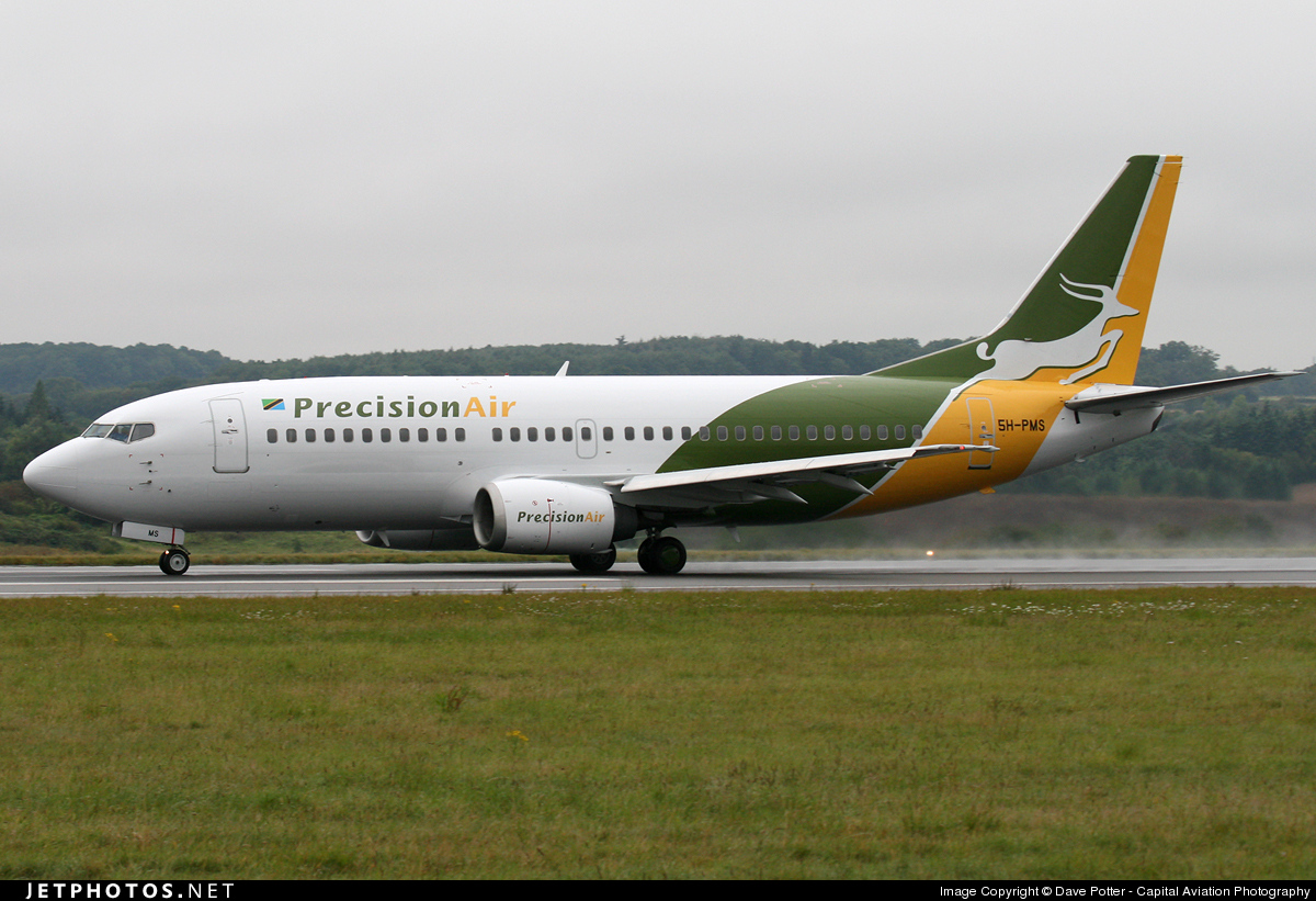 5H-PMS - Boeing 737-36N - Precision Air