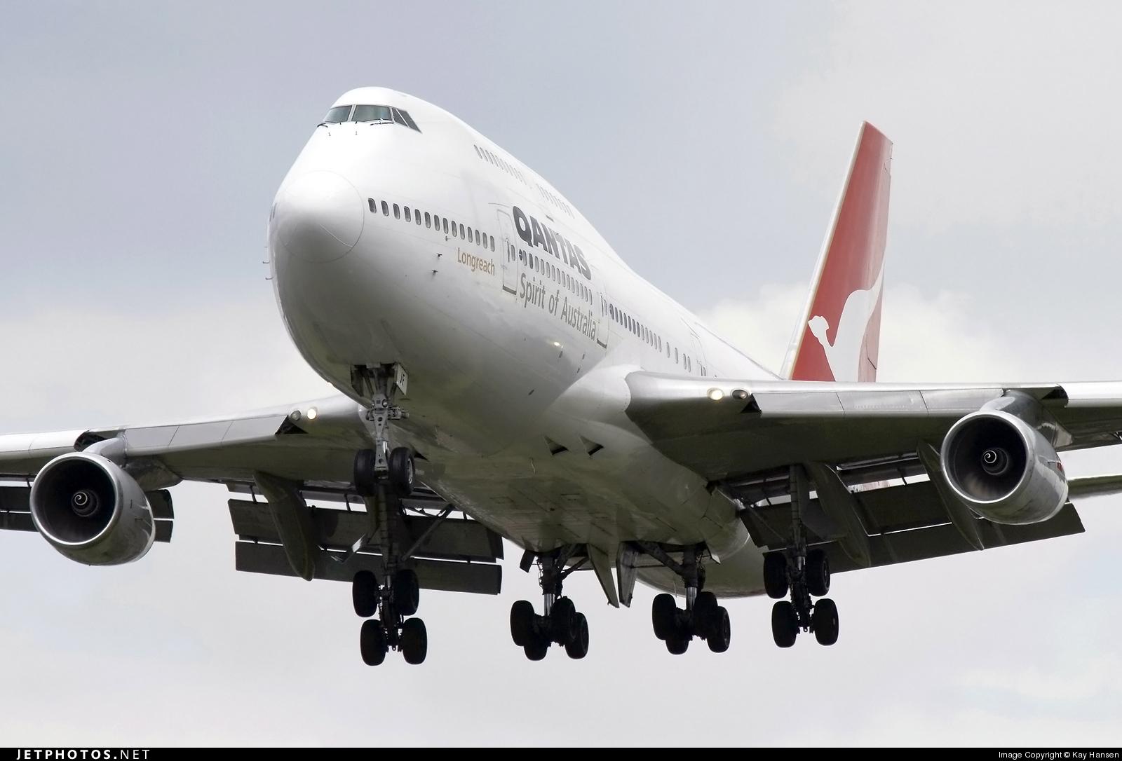 VH-OJF - Boeing 747-438 - Qantas