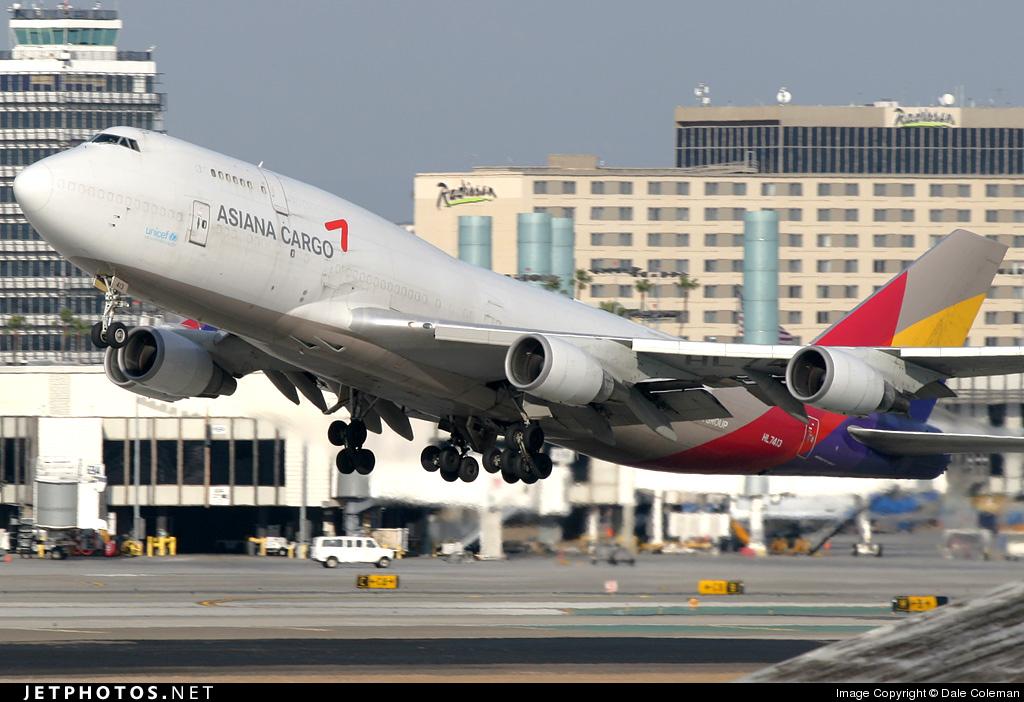 HL7413 | Boeing 747-48E(BDSF) | Asiana Cargo | Dale ...