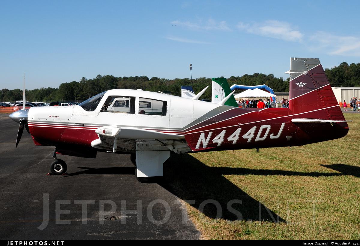 N444DJ - Mooney M20C - Private