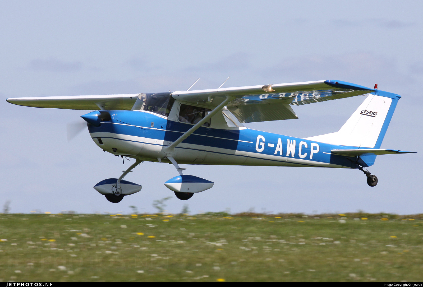 G-AWCP - Reims-Cessna F150H - Private