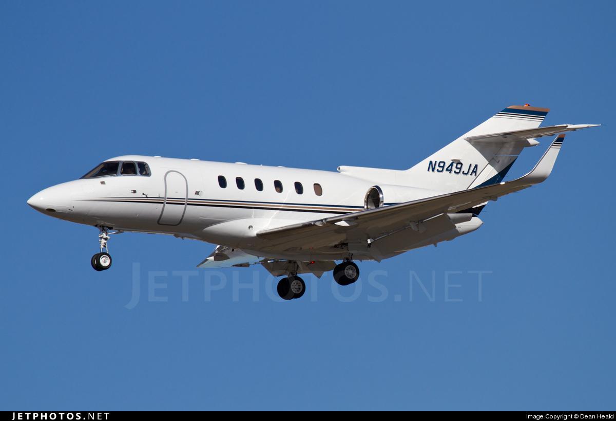 N949JA - Raytheon Hawker 800XP - Private