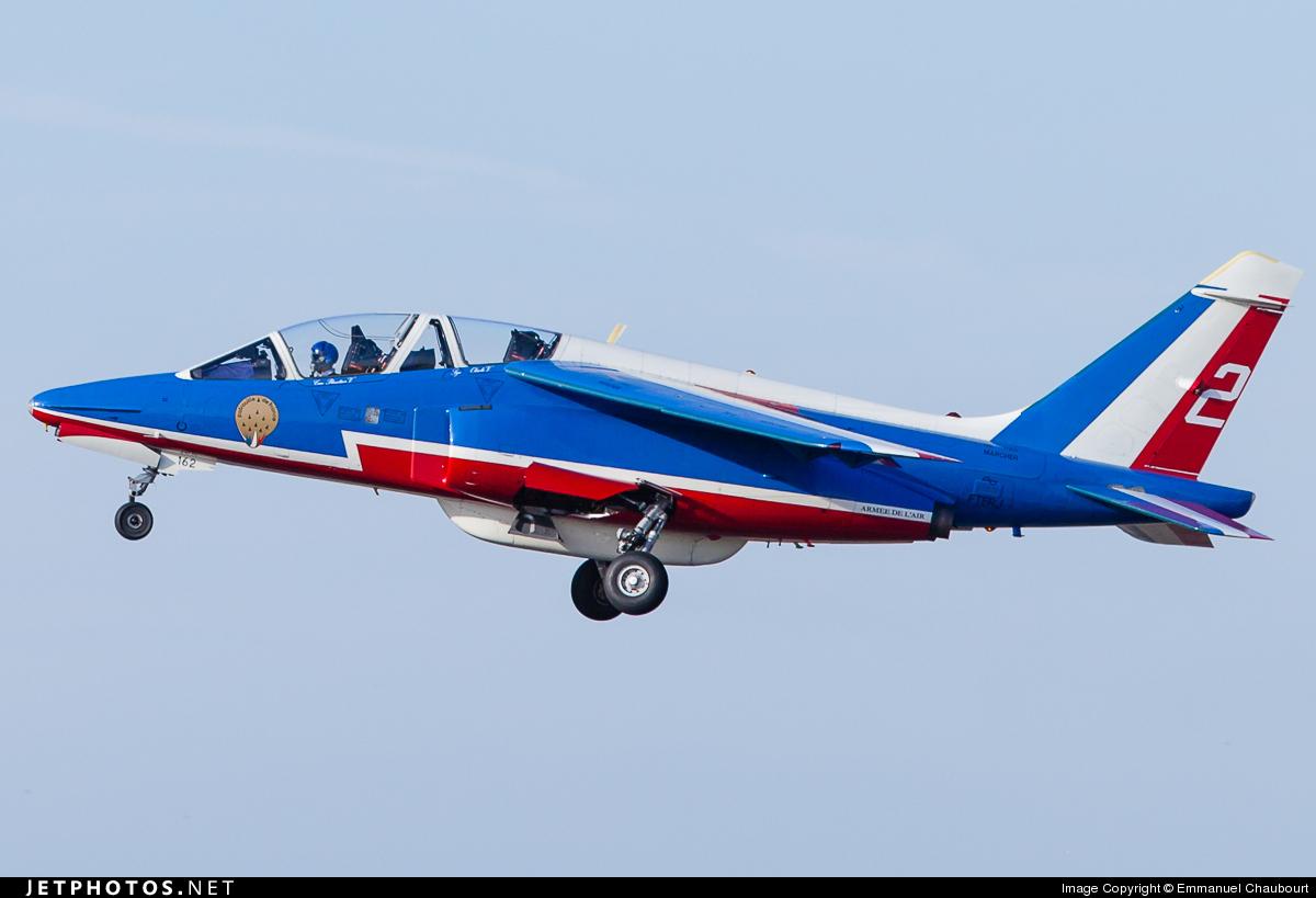 E162 - Dassault-Breguet-Dornier Alpha Jet E - France - Air Force