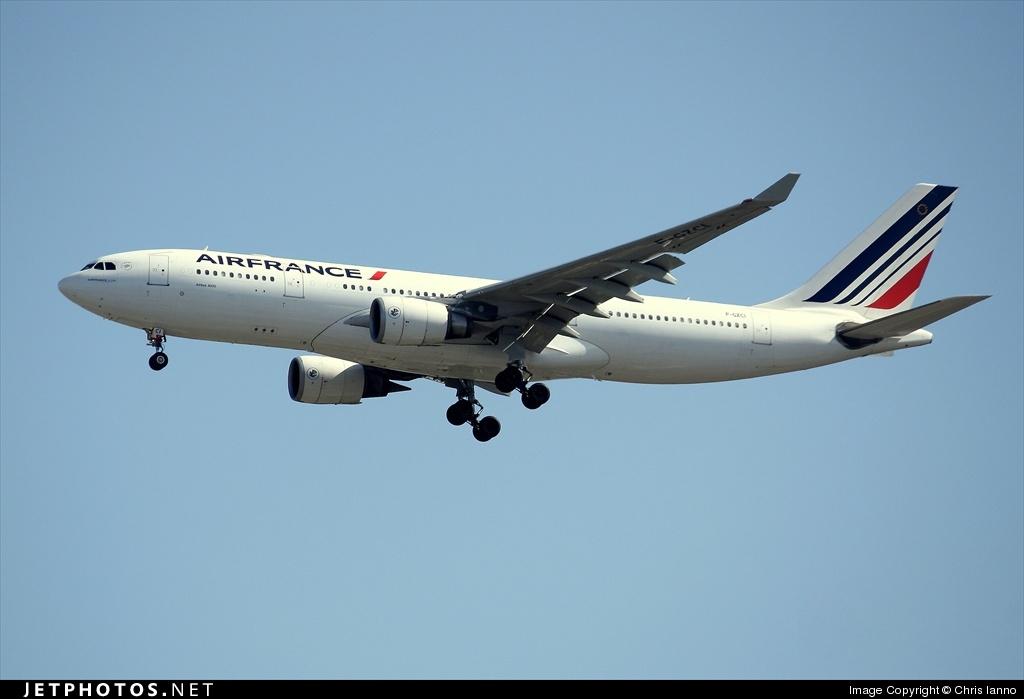 F-GZCI - Airbus A330-203 - Air France