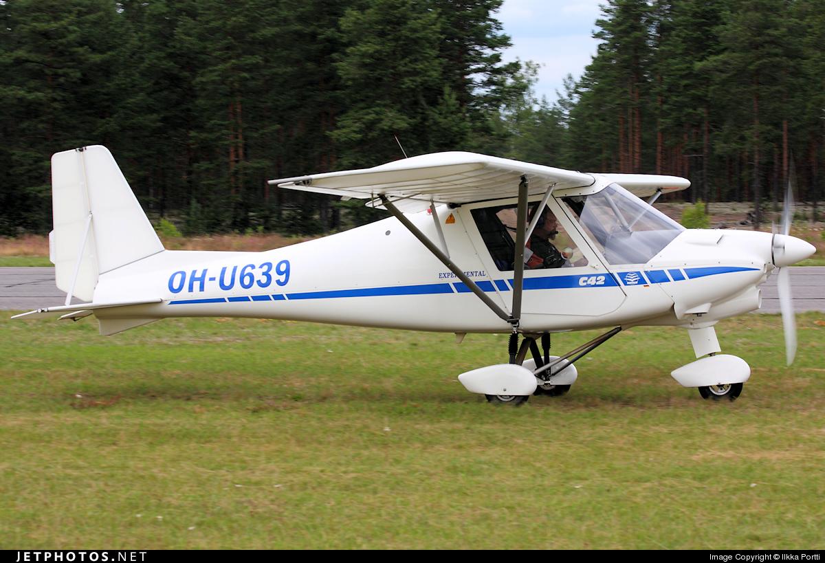 OH-U639 - Ikarus C-42B - Private