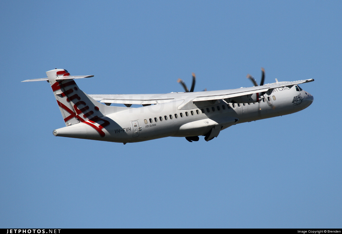 VH-FVH - ATR 72-212A(500) - Virgin Australia Regional Airlines (Skywest Airlines)