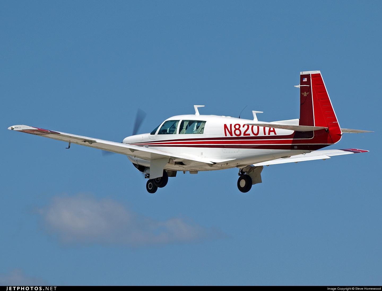N8201A - Mooney M20J - Private