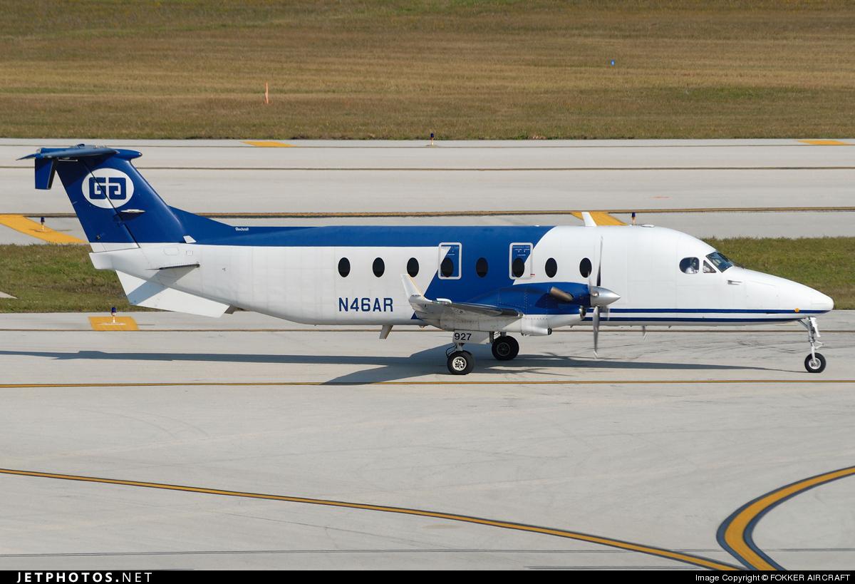 N46AR - Beech 1900D - Gulfstream International Airlines