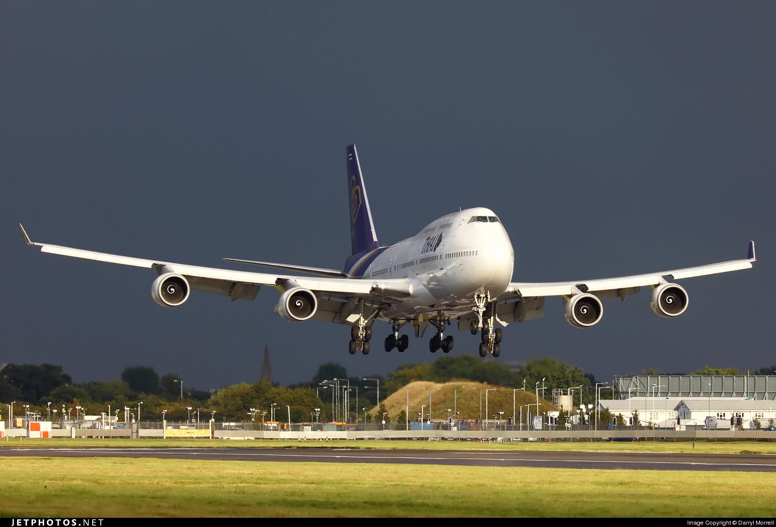 HS-TGK - Boeing 747-4D7 - Thai Airways International
