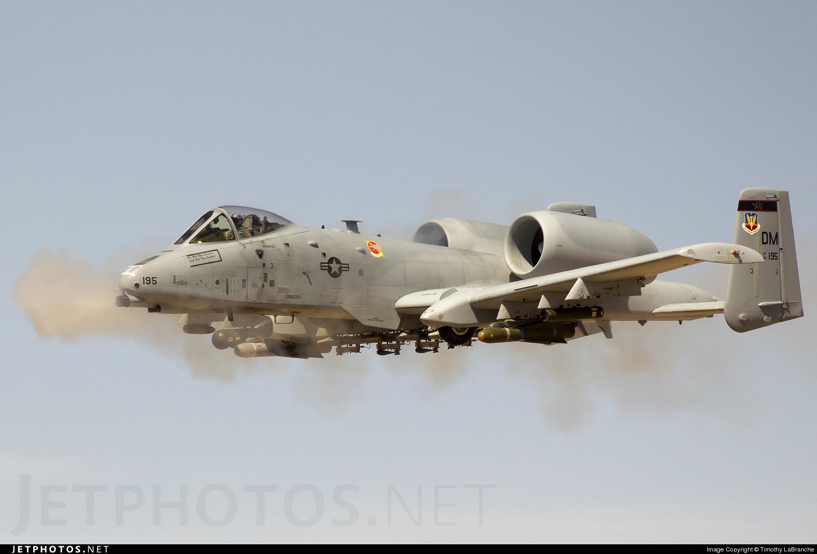 80-0195 - Fairchild A-10A Thunderbolt II - United States - US Air Force (USAF)