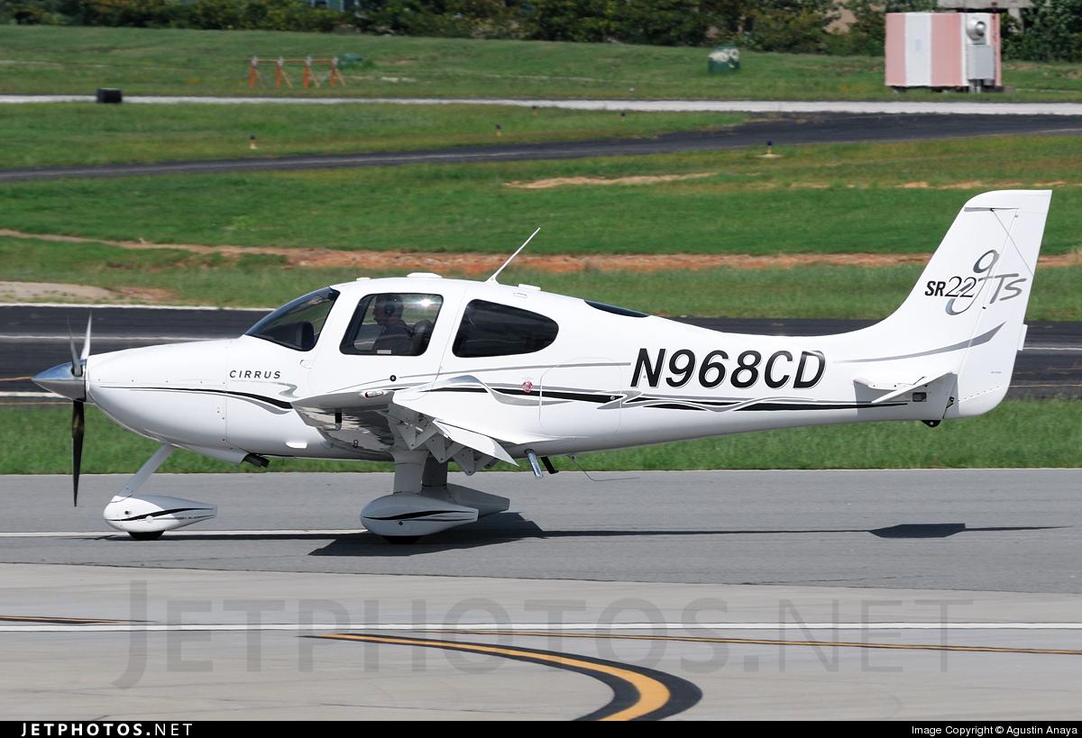 N968CD - Cirrus SR22-GTS - Private