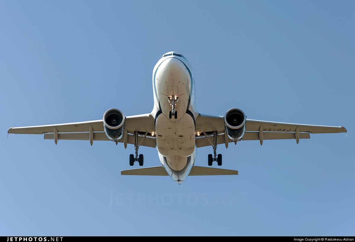 SX-OAJ - Airbus A319-112 - Olympic Air