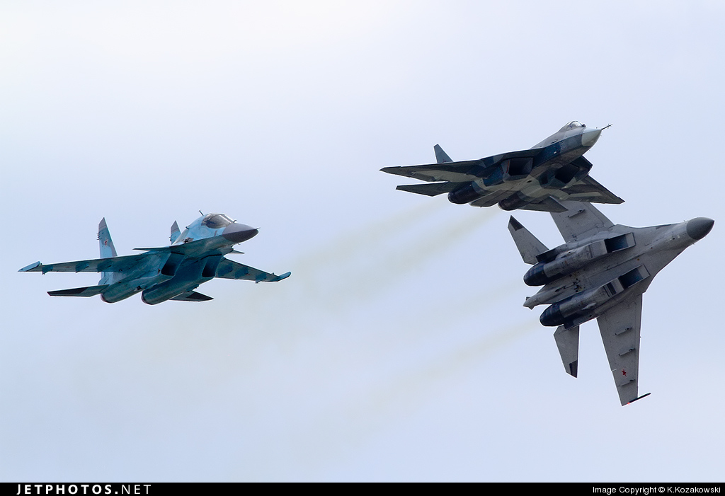 52 - Sukhoi T-50 - Russia - Air Force