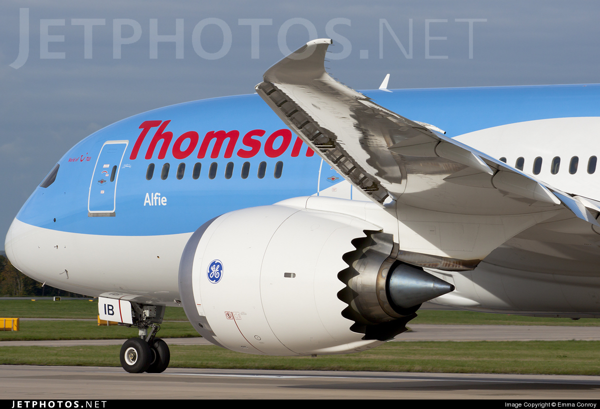 G-TUIB | Boeing 787-8 Dreamliner | Thomson Airways | Emma Conroy ...