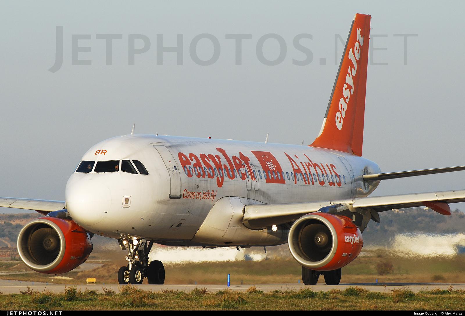 G-EZBR - Airbus A319-111 - easyJet