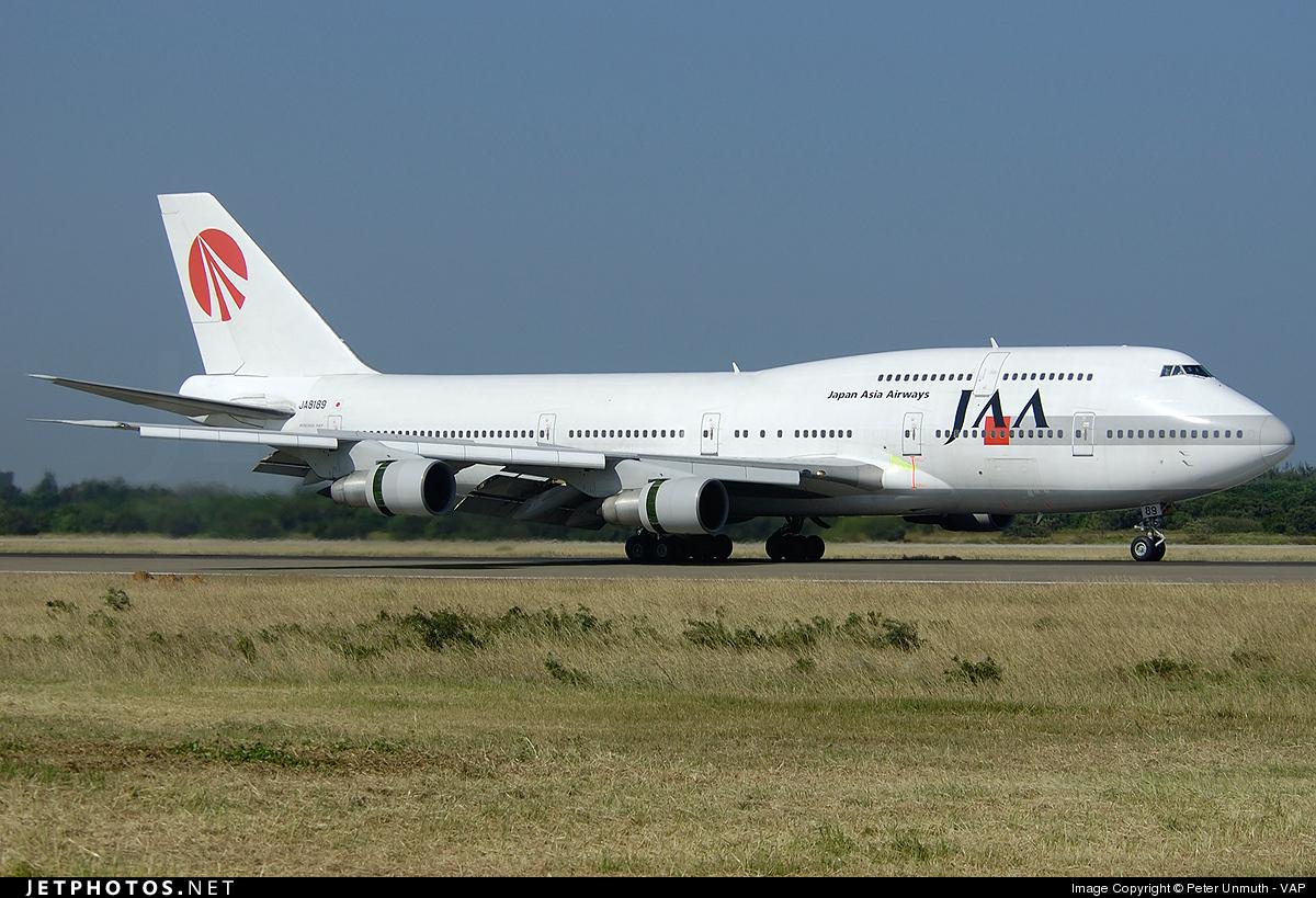 JA8189 - Boeing 747-346 - Japan Asia Airways (JAA)