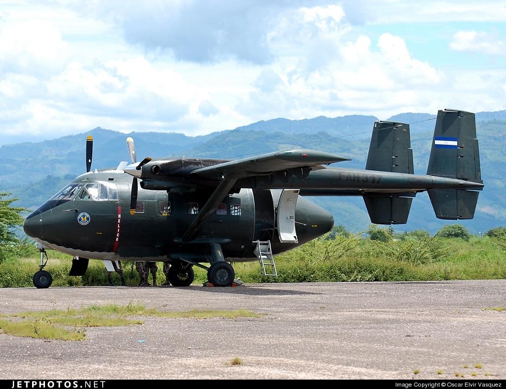 FAH-317 - IAI Arava 201 - Honduras - Air Force