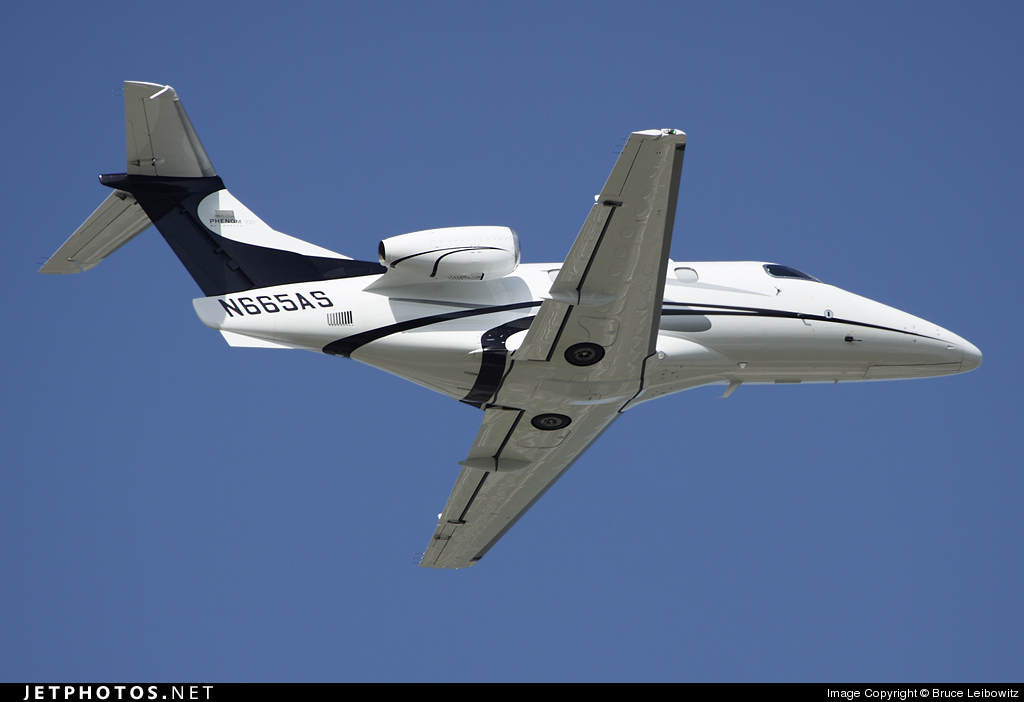 N665AS - Embraer 500 Phenom 100 - Private