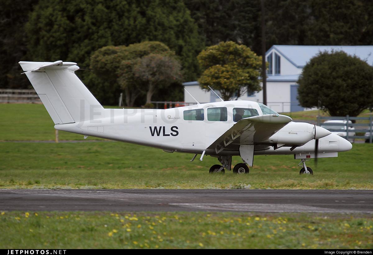 ZK-WLS - Beechcraft 76 Duchess - Ardmore Flying School
