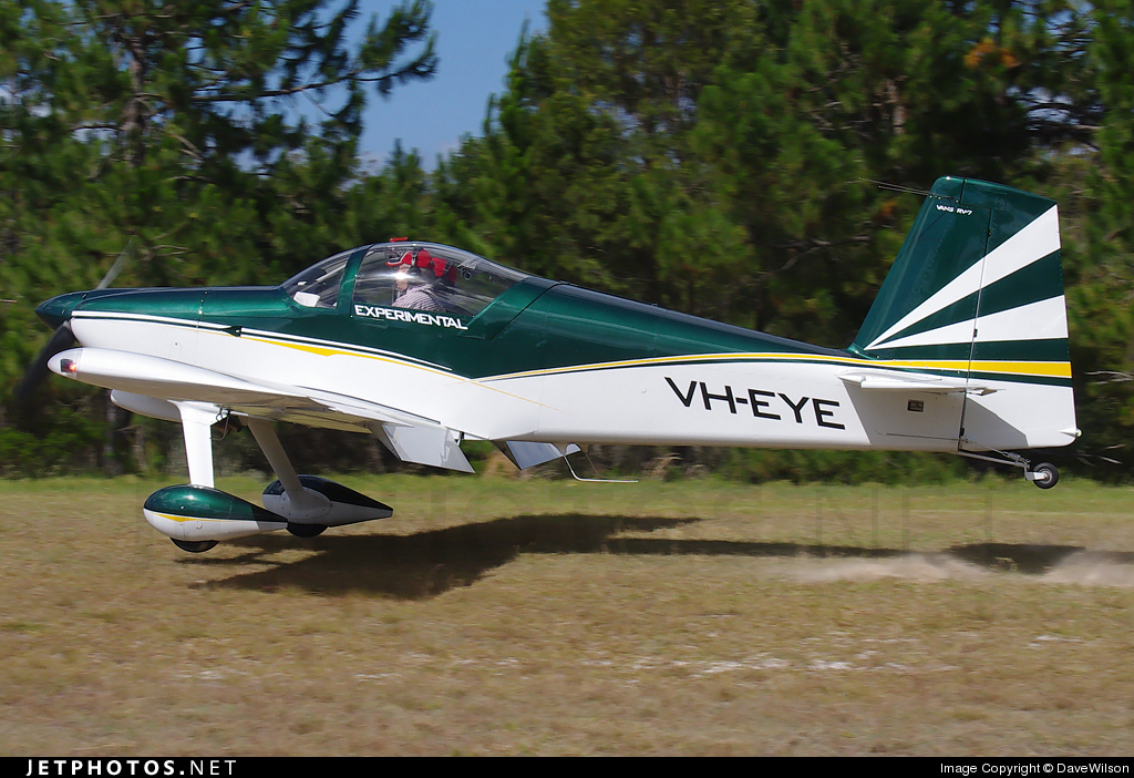 VH-EYE - Vans RV-7 - Private