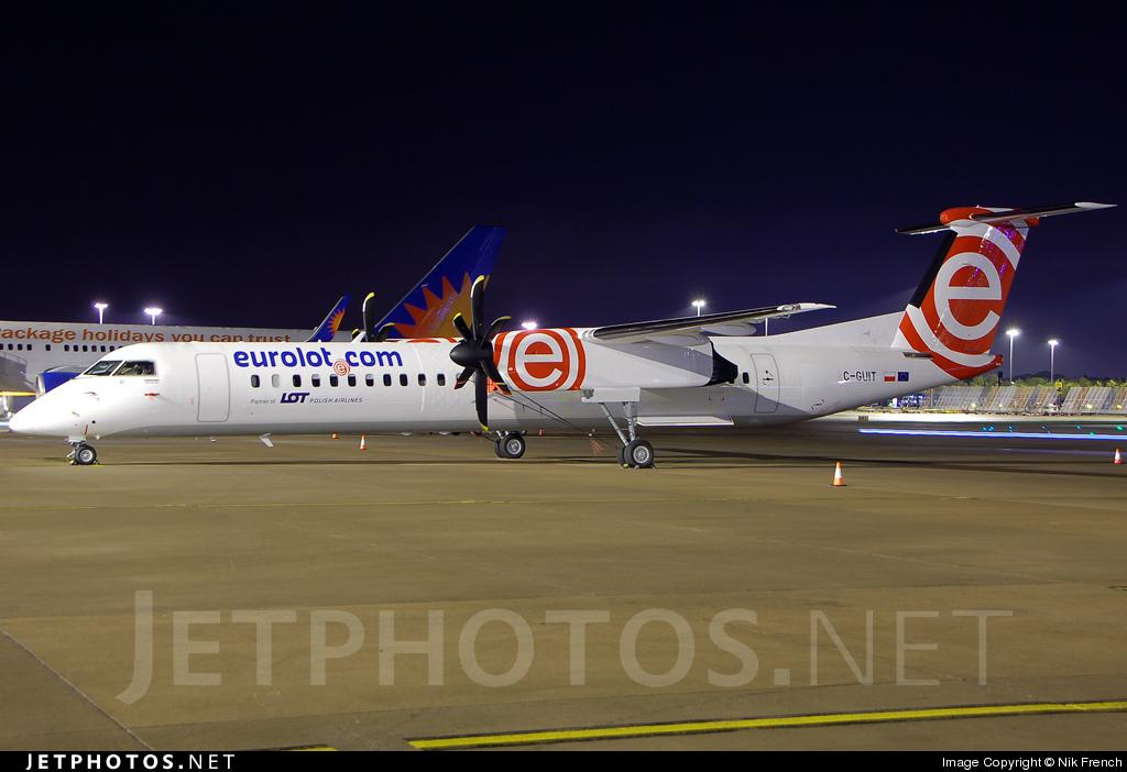 C-GUIT - Bombardier Dash 8-Q402 - EuroLOT
