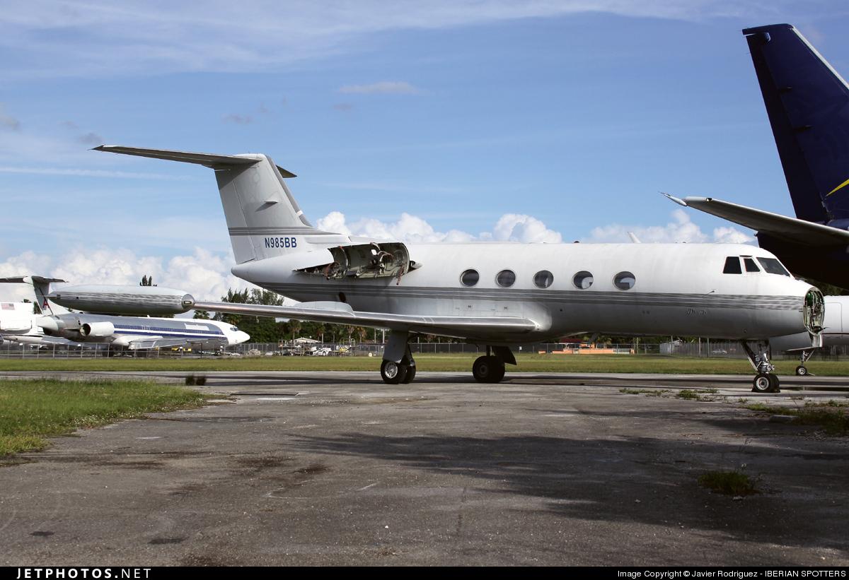 N985BB - Gulfstream G-IITT - Private