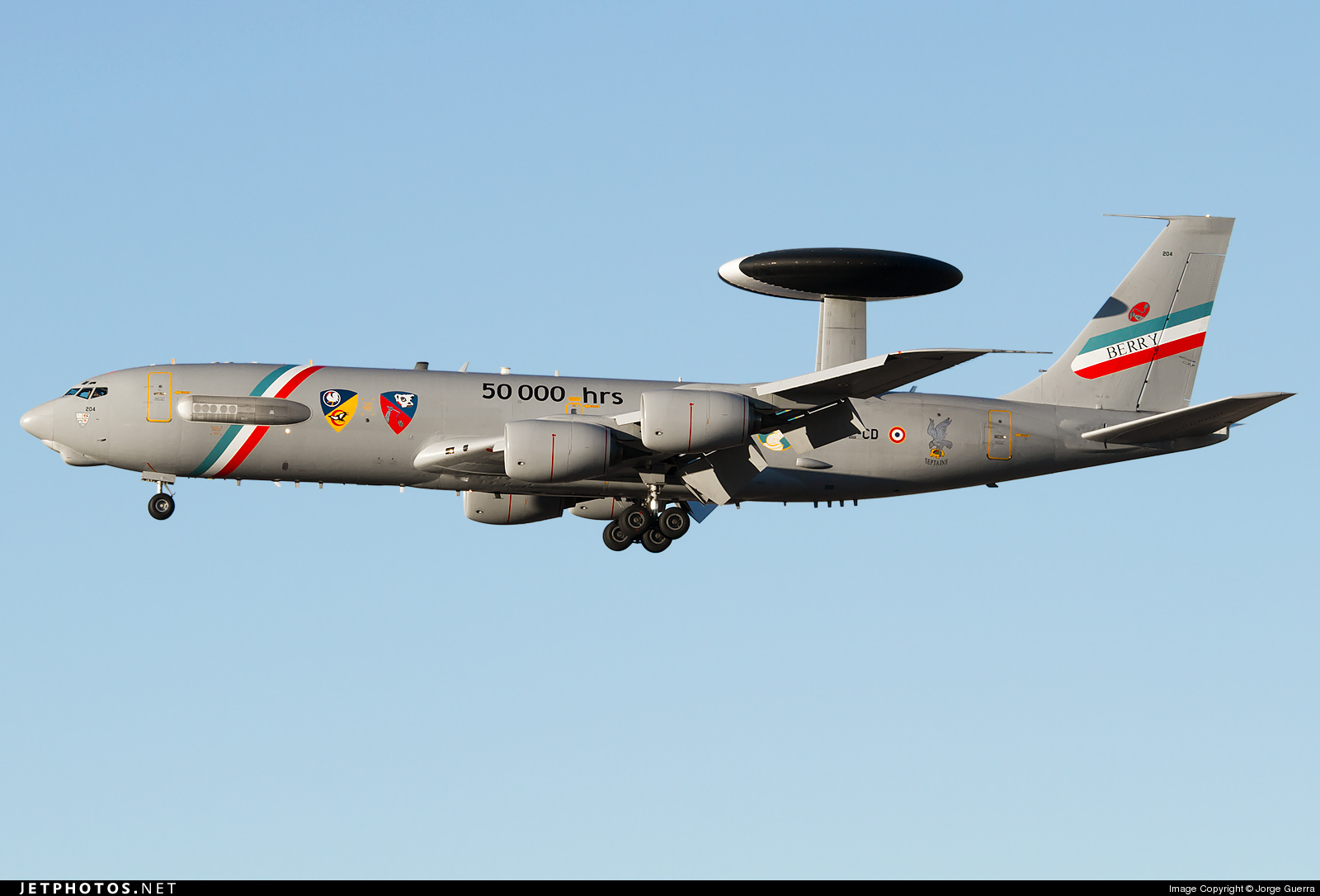 204 - Boeing E-3F Sentry - France - Air Force