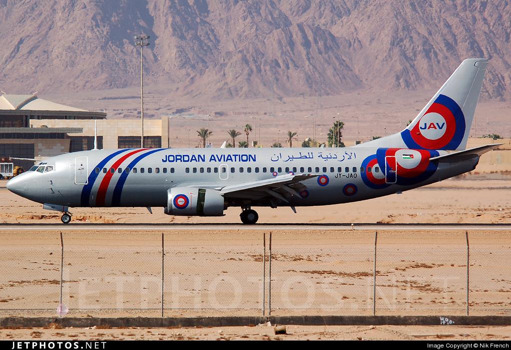 JY-JAO - Boeing 737-322 - Jordan Aviation