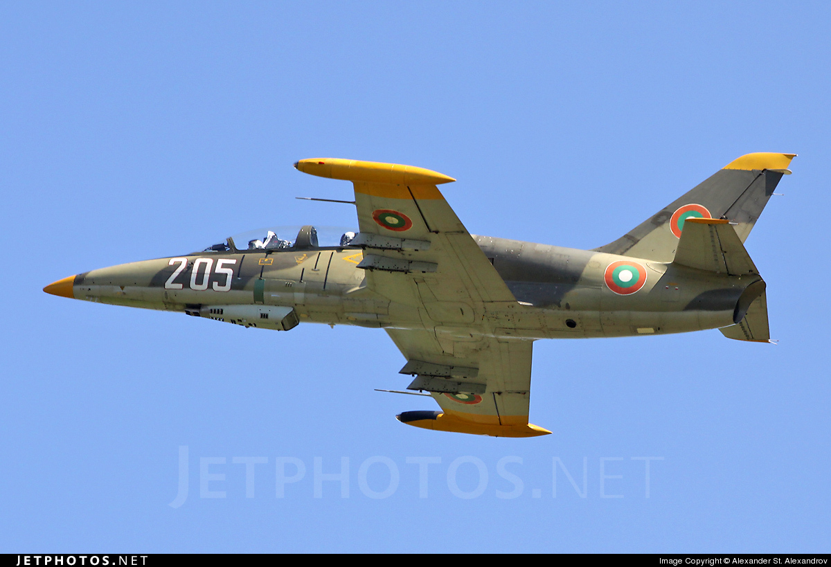 205 - Aero L-39ZA Albatros - Bulgaria - Air Force