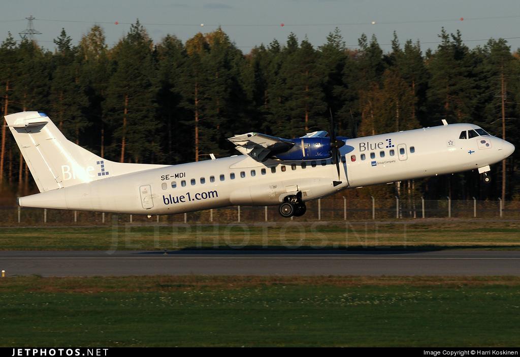 SE-MDI - ATR 72-212A(500) - Blue1 (Golden Air)