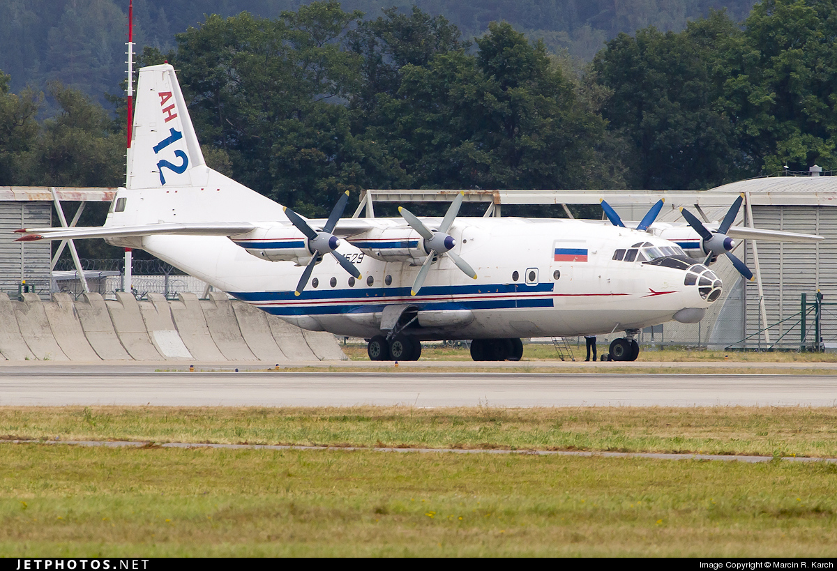 RA-11529 - Antonov An-12BP - Russian Aircraft Corporation MiG