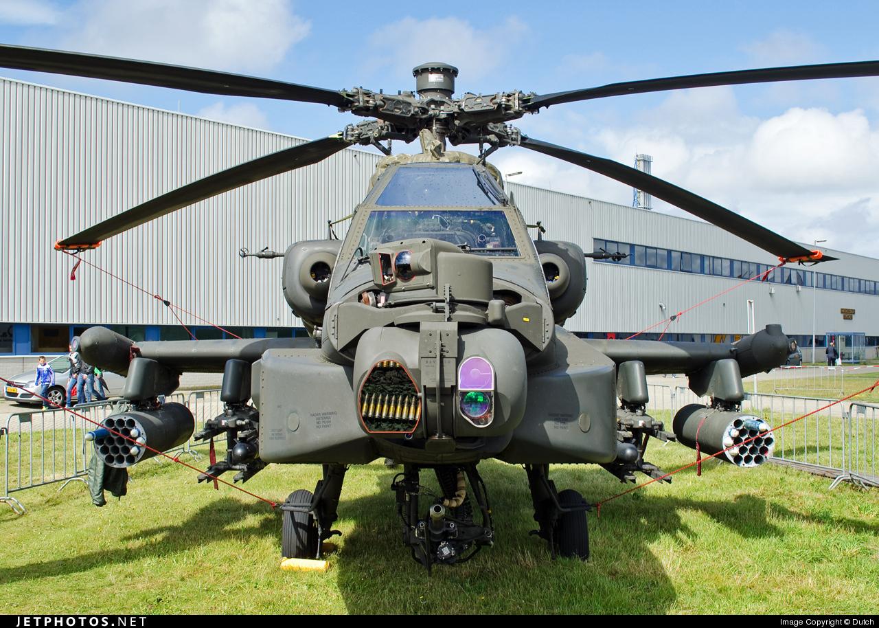 Q-16 - Boeing AH-64D Apache - Netherlands - Royal Air Force