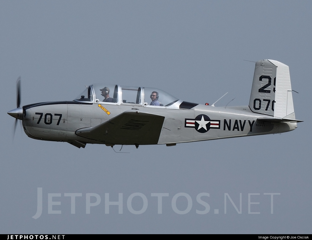 N34VY - Beechcraft T-34B Mentor - Private