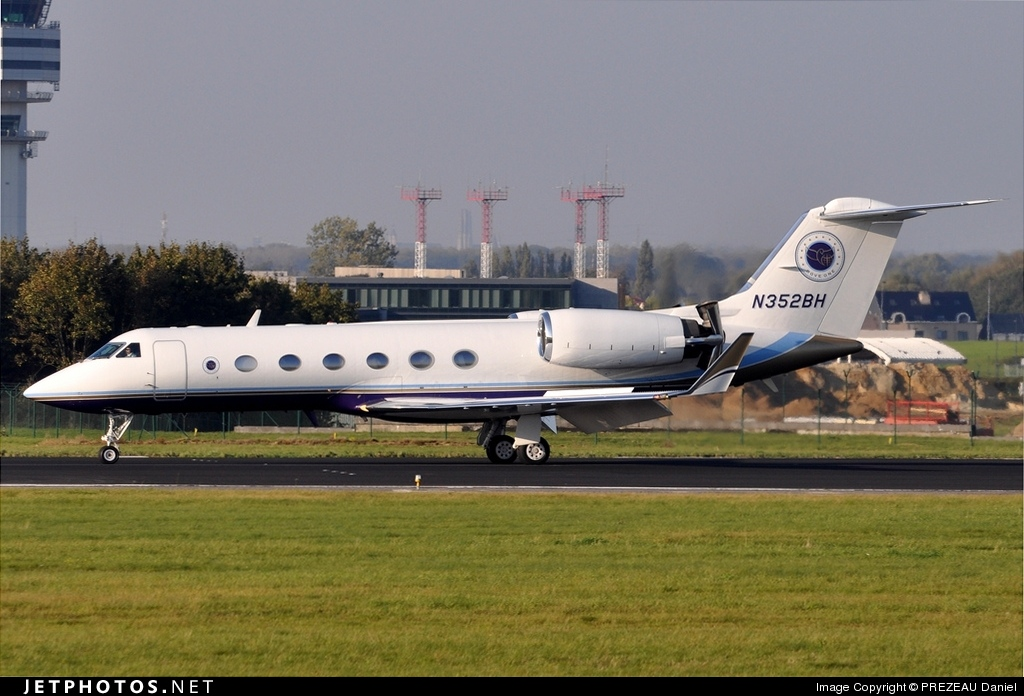 N352BH - Gulfstream G-IV - Private