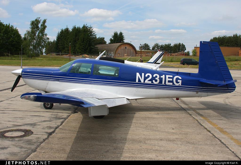 N231EG - Mooney M20K-231 - Private