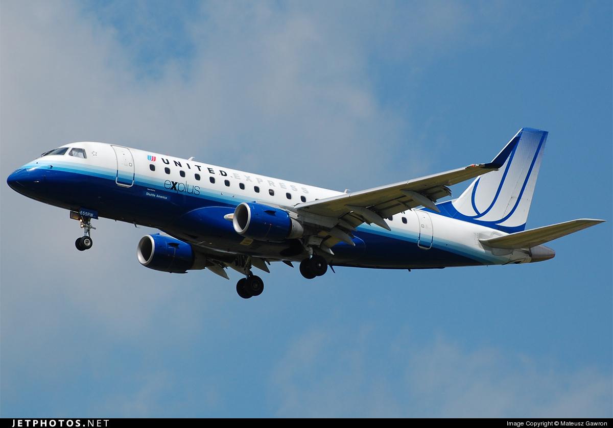 N655RW - Embraer 170-100SE - United Express (Shuttle America)