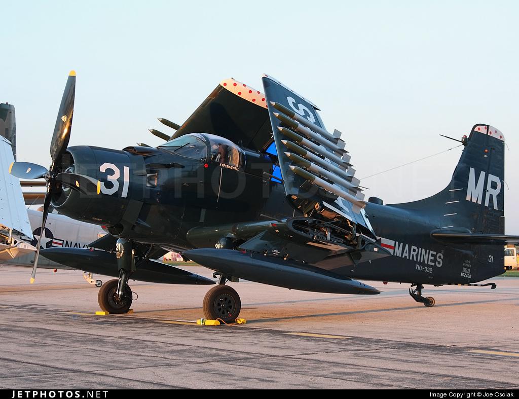 N62466 - Douglas EA-1F Skyraider - Private