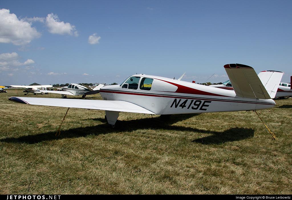 N419E - Beechcraft E35 Bonanza - Private