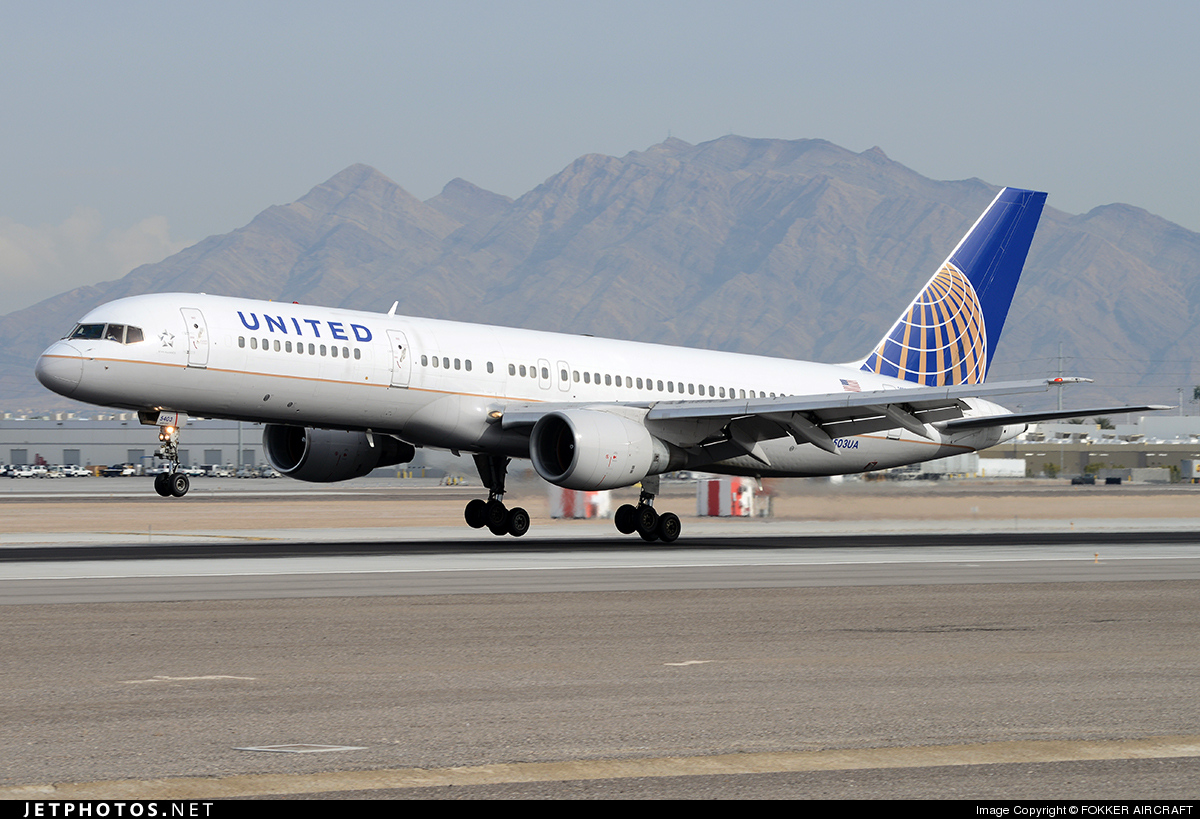 N503UA - Boeing 757-222 - United Airlines