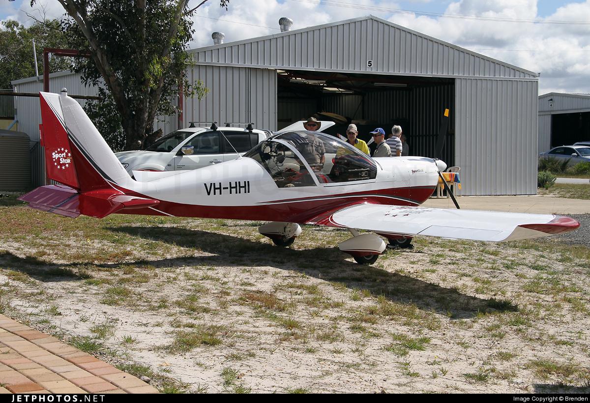VH-HHI - Evektor-Aerotechnik SportStar Plus - Private