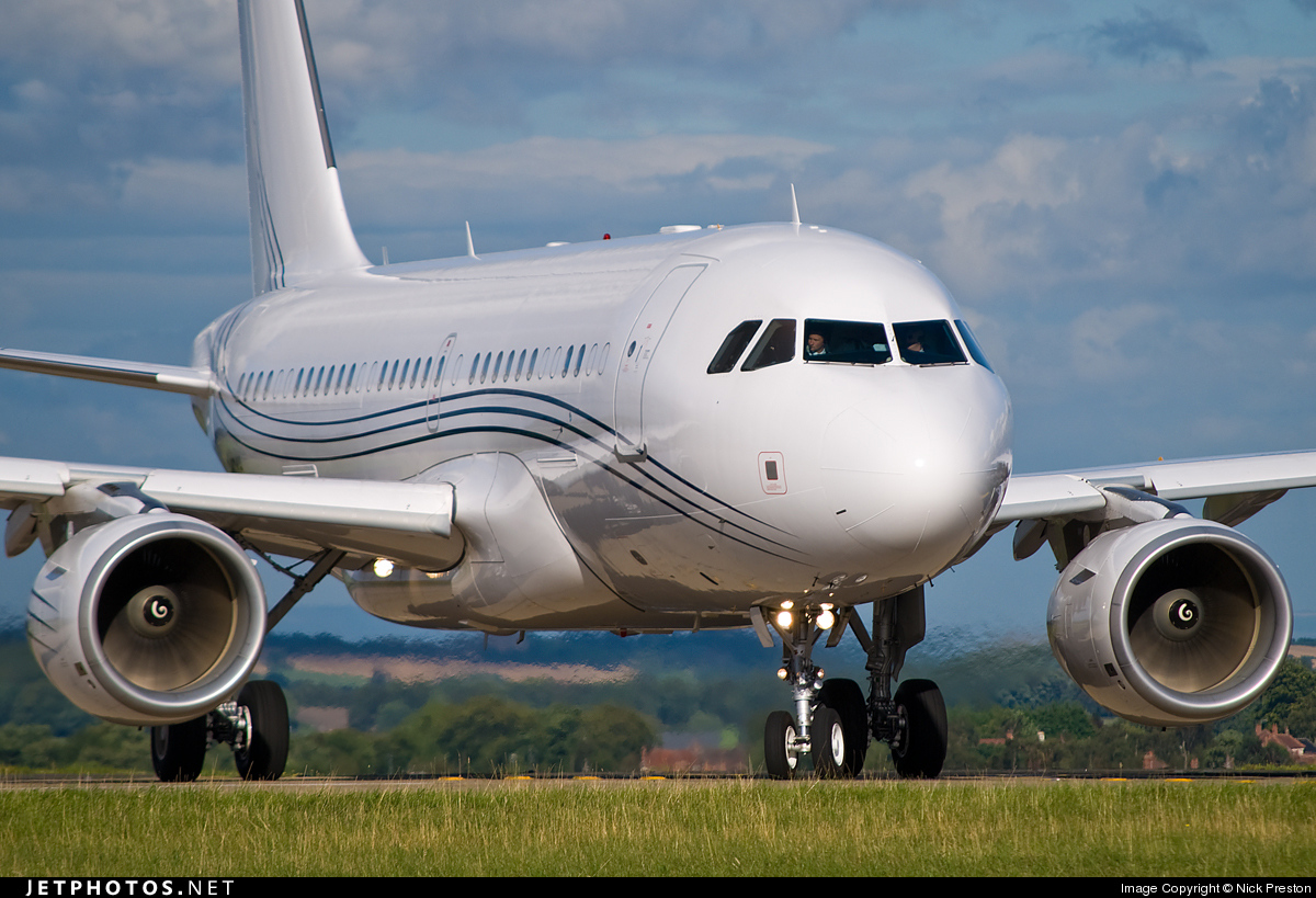 G-NOAH - Airbus A319-115X(CJ) - Acropolis Aviation
