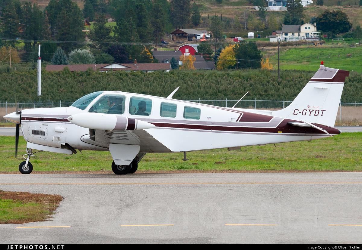 C-GYDT - Beechcraft A36 Bonanza - Private