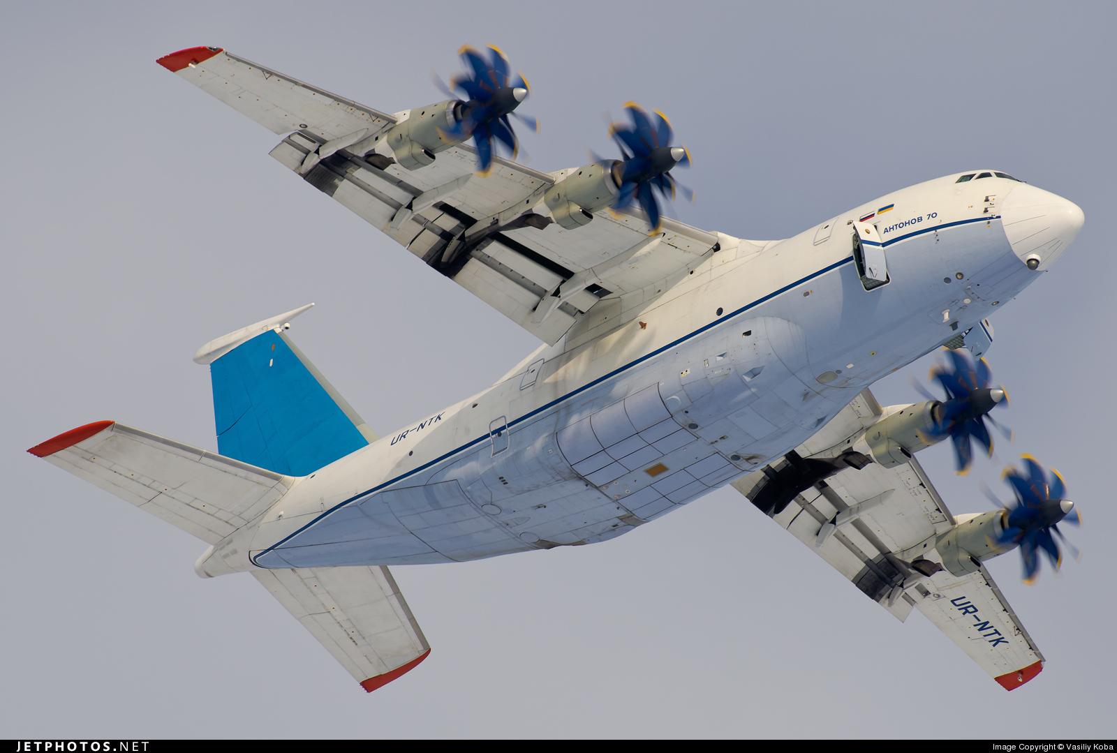 UR-NTK - Antonov An-70 - Antonov Design Bureau
